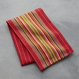 Crate & Barrel Salsa Dos Red Dish Towel