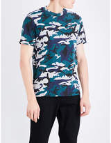 Sandro Camouflage-print Jersey T-shirt
