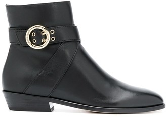 Jimmy Choo Buckle Ankle Boot