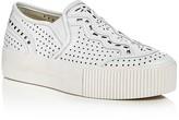 Ash Kingston Perforated Slip-On Platform Sneakers