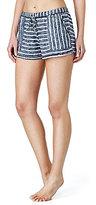 Kensie Striped Sweater-Knit Sleep Shorts