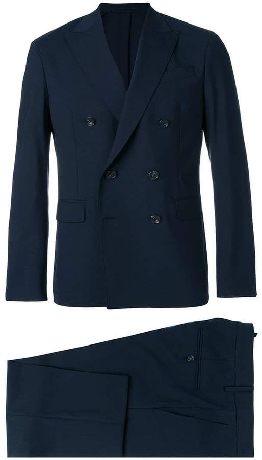 DSQUARED2 double breasted two-piece suit