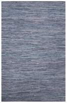 Diva At Home 5' x 8' Denim Hand Loomed Flat Weaved Area Throw Rug