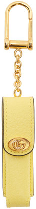 Gucci Yellow Single Porte-Rouges Keychain