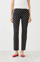J. Jill Perfect Cotton-Stretch Print Ankle Pants