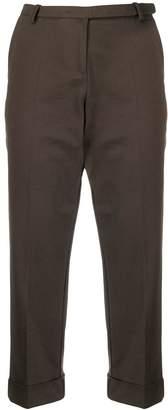 Antonio Marras cropped straight-leg trousers