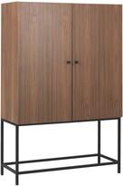 CLERKENWELL Walnut 2 door cabinet
