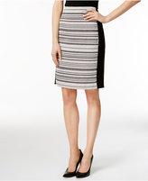 Calvin Klein Side-Panel Straight Skirt