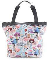 Le Sport Sac Top Zip Printed Handbag