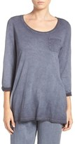 Daniel Buchler Women's Washed Cotton Top