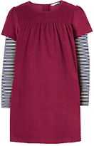 John Lewis Girls' Corduroy Pini Dress Set