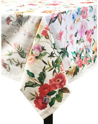 """Coventry Floral Tablecloth 60"""" x 102"""""""