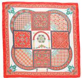 Hermes Ciels Byzantins Silk Jacquard Scarf