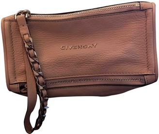 Givenchy Pandora Box Pink Leather Clutch bags
