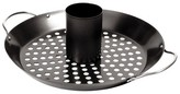 Charcoal Companion Non-Stick Combination Vertical Roasting Rack and Wok