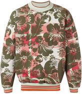 Vivienne Westwood Man - floral print sweatshirt - men - Cotton/Polyester/Spandex/Elastane - M