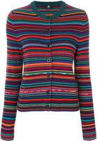Paul Smith striped cardigan - women - Cotton/Merino - XS