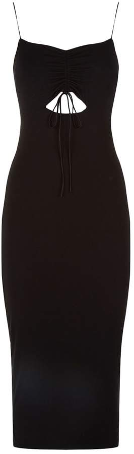 Alexander Wang Cut Out Midi Dress