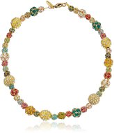 """Lenora Dame """"Retro"""" All Decked Out In Swarovski Bright's Choker Necklace"""