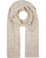 Accessorize Open Cable Lofty Scarf