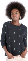 Sole Society Easy Fit Embroidered Sweater