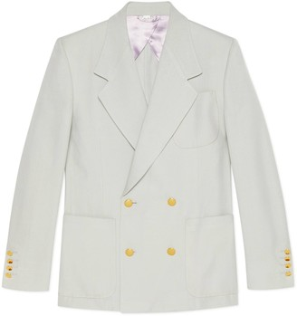 Gucci Viscose gauze jacket