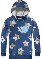 Scotch & Soda All-Over Printed Hoodie