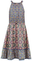 Fat Face Girls' Edith Giraffe Tile Dress, Khaki