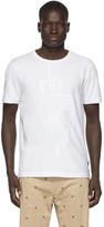 Fendi White Destruction T-Shirt