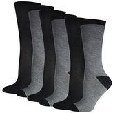 Silks Six-Pack Crew Socks