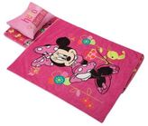 Disney Aquatopia® Minnie Mouse Deluxe Memory Foam Nap Mat, Pillow and Blanket Set in Pink