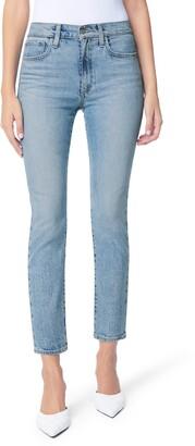Joe's Jeans The Luna High Waist Distressed Ankle Jeans