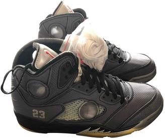 Nike x Off-White Jordan 5 Grey Plastic Trainers