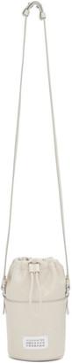 Maison Margiela Off-White Micro 5AC Bucket Bag