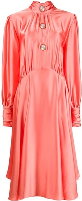 Christopher Kane Slinky Satin Dress