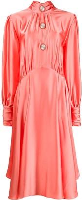 Christopher Kane Slinky Satin Dress