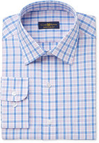 Club Room Men's Estate Classic/Regular Fit Pink Gingham Dress Shirt, Only at Macy's