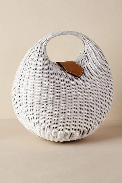 Anthropologie Valda Straw Bag