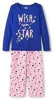 CircoTM Girls' Star Pajama Set - Blue Circo