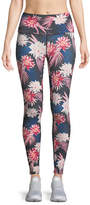 Spiritual Gangster Tropics High Vibe Floral-Print Leggings