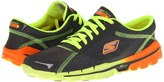 Skechers Performance - GOrun 2 (Charcoal/Orange) - Footwear
