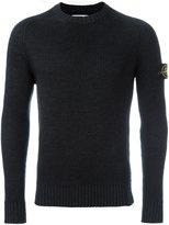 Stone Island ribbed knit jumper
