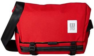 Topo Designs Messenger Bag (Red) Messenger Bags