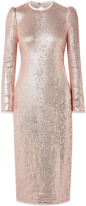 Rachel Zoe Caden Asymmetric Floral-print Silk-georgette Dress