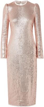 Rachel Zoe Jeane Open-back Sequined Crepe Midi Dress