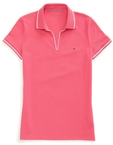 Tommy Hilfiger Buttonless Polo