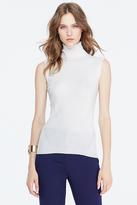Diane von Furstenberg Sutton Sleeveless Turtleneck Sweater