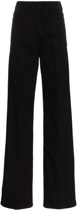 Lemaire high-waisted wide leg jeans