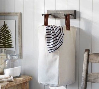 Pottery Barn Mission Modular Laundry Bag & Holder