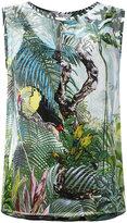 Max Mara rainforest print top - women - Silk/Spandex/Elastane/Viscose - 44